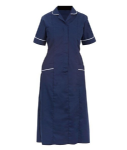 Ladies Classic Step-in Dress (Sizes 8 - 30, 13 Colours or Variations - Navy, Royal, Sky)
